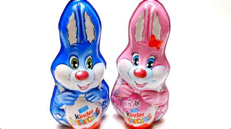 KINDER Surprise Eggs Bunnies Edition   Pink for Girls ...