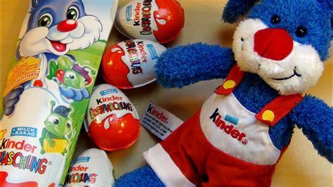Kinder Surprise Eggs [Easter Bunny 4pack]   YouTube