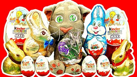 Kinder Surprise Eggs Maxi Egg Easter Bunny Chocolate ...