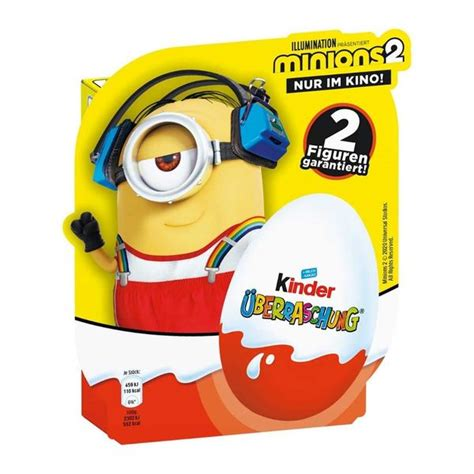 Kinder Surprise Eggs   Minions 2 – Chocolate & More Delights