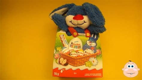 Kinder Surprise Eggs New Easter Plush Bunny Mix Toys ...