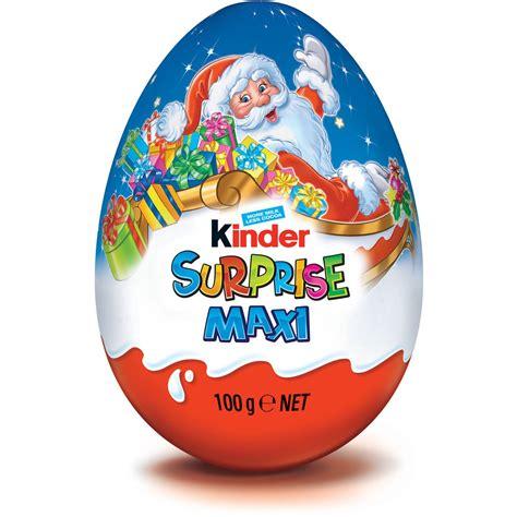 Kinder Surprise Maxi Egg 100g   The Australian Food Shop