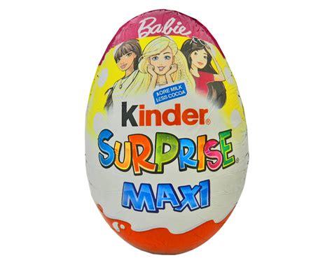 Kinder Surprise Maxi Egg Barbie 100g   Easter Egg Warehouse