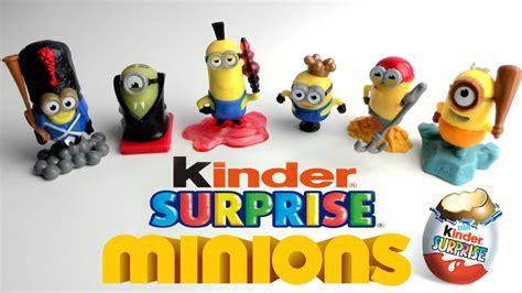 Kinder Surprise MINIONS   YouTube