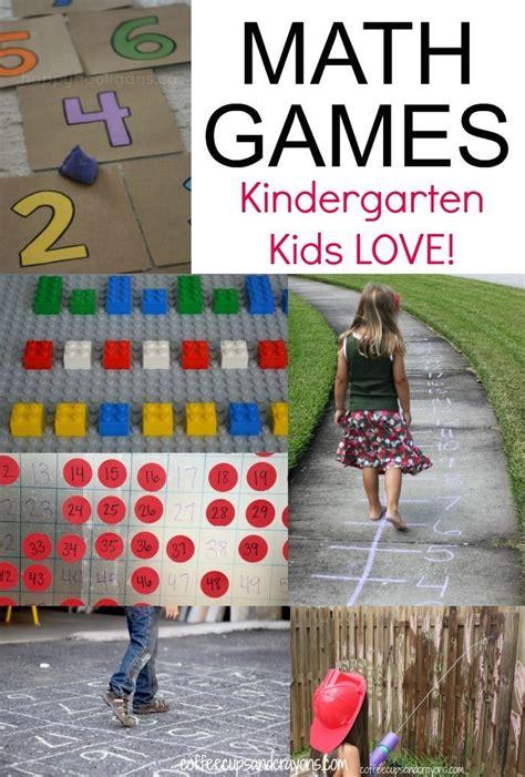 Kindergarten Active Math Games | KindergartenKlub.com ...