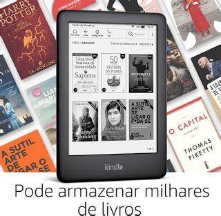"""Kindle 10ª Geração Tela 6"""" 8GB Wi Fi Luz Embutida   Preto ..."""