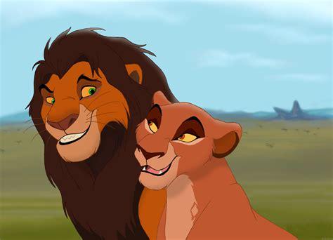 King Ahadi and Queen Uru by HydraCarina on DeviantArt