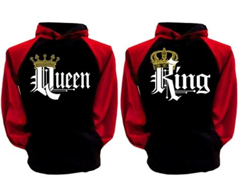 King and Queen Shirts, Matching King and Queen Couple ...
