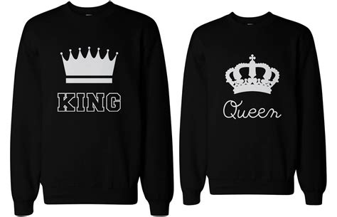 King and Queen Shirts, T shirts, Sweatshirts, Hoodies For ...