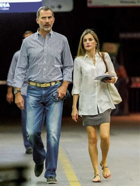 King Felipe and Queen Letizia were seen in Madrid ...