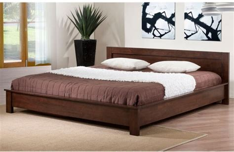 King Size Bed Frame Headboard Footboard Bedroom Wood ...