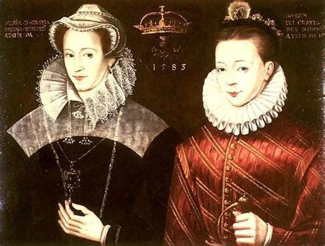 Kings and Queens images Mary Queen of Scots and her son ...