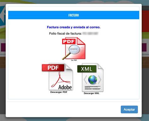 Kiosko Facturación Facturar Ticket   Descargar XML