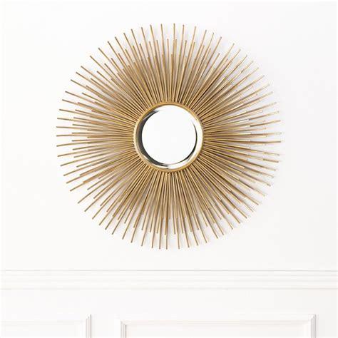 Kirpi espejo dorado   Kenay Home