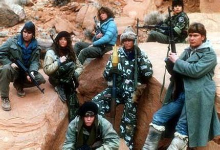 Kiss My Wonder Woman: The Women in Red Dawn Suck. That Is All.