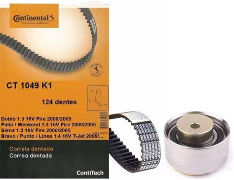 Kit Correia Dentada+tensor Punto 1.4 16v T jet 2014 ...