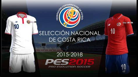 Kit COSTA RICA 2015 New Balance • COPA ORO | PES 2013 ...