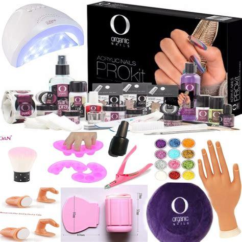 Kit De Acrilico Organic Nails   $ 2,700.00 en Mercado Libre