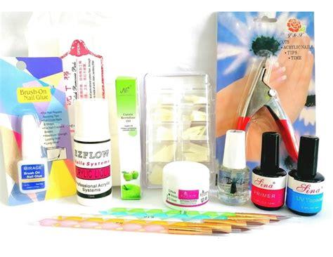 Kit De Uñas En Acrílico Completo   $ 2.519,00 en Mercado Libre
