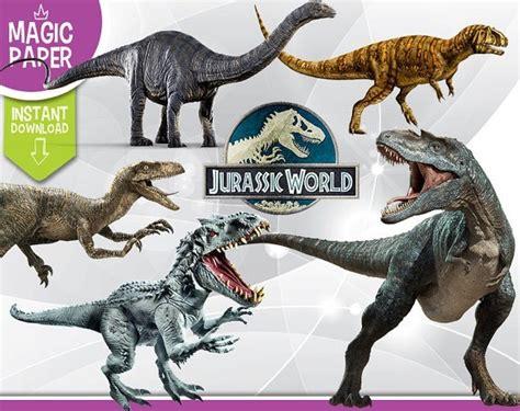 Kit Digital Scrap Dinossauros Jurassic Park Envio Na Hora ...