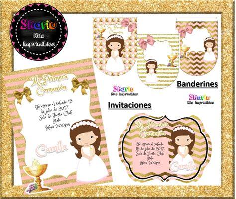 Kit Imprimible Primera Comunión Candy Bar   $ 4.500 en ...