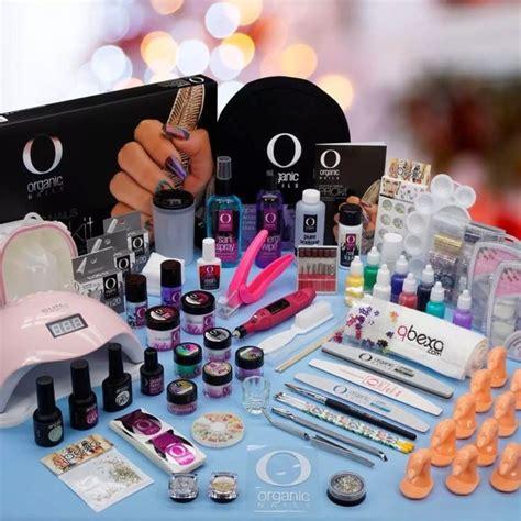 Kit Organic Nails Acrílico Uñas lampara UV/led 24w + gel