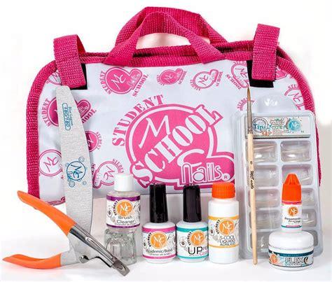 Kit School Para Uñas Mc Nails   $ 332.50 en Mercado Libre