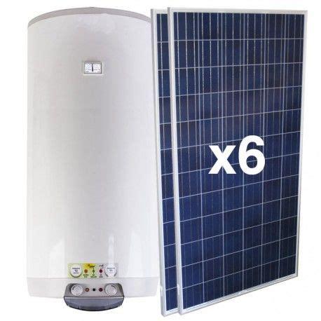 Kit Termo Eléctrico híbrido ACS Solar 1.5kW 160 litros mural