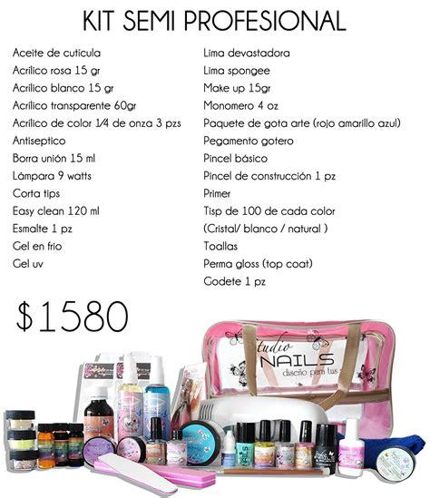 Kits Basico Para Uñas Acrilicas O Gel Gelish   $ 399.00 en ...