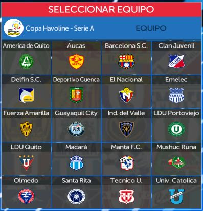 KITS LIGA PRO ECUADOR   FTS 2019:  Kits de la Liga Pro ...