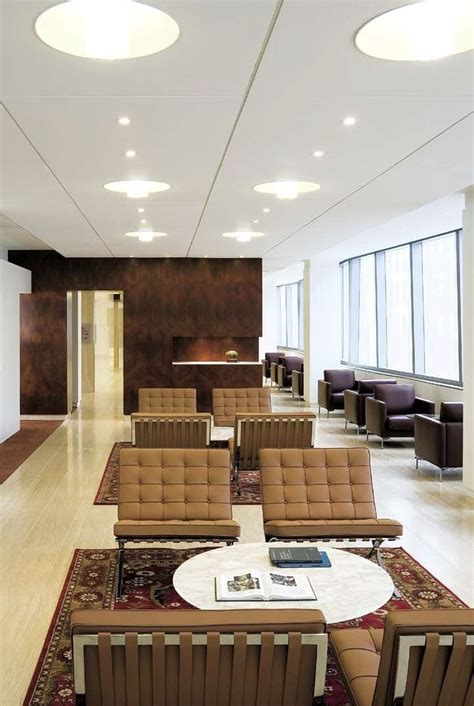 Knoll barcelona chairs | Office lounge design, Lounge ...