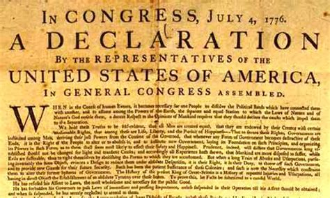 Knowing your American Heroes ~ United States Declaration ...