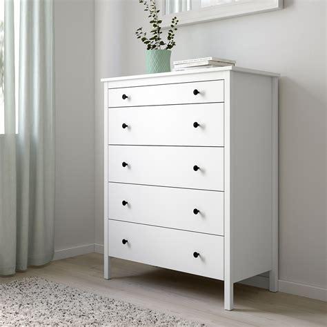 KOPPANG Chest of 5 drawers, white, 90x114 cm   IKEA