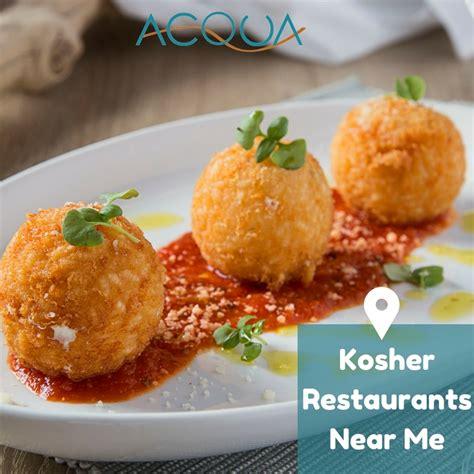 Kosher Restaurants Near Me in Aventura | Acqua Trattoria ...