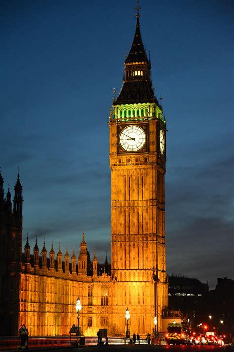 Kostenloses Foto zum Thema: big ben, london, nachtaufnahmen