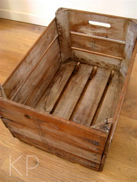 KP Tienda Vintage Online: Caja de madera vintage ...