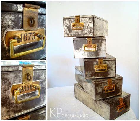 KP Tienda Vintage Online: Cajas metálicas antiguas de ...