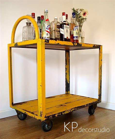 KP Tienda Vintage Online: Carro industrial como camarera ...