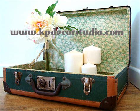 KP Tienda Vintage Online: Maleta antigua color verde años ...