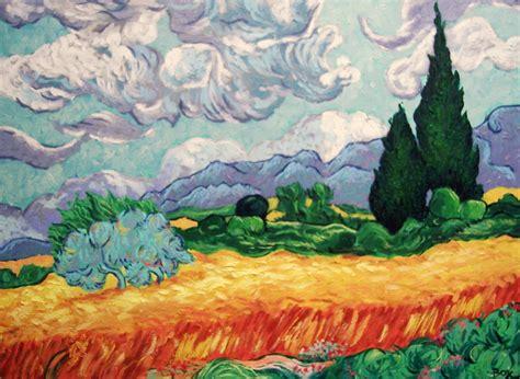 KreatiBox: Mi pequeño homenaje a Van Gogh