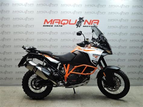 KTM 1290 SUPER ADVENTURE – Maquina Motors