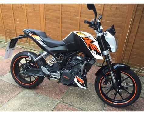 KTM Duke 125 learner legal 125cc motorbike | Motorbikes ...