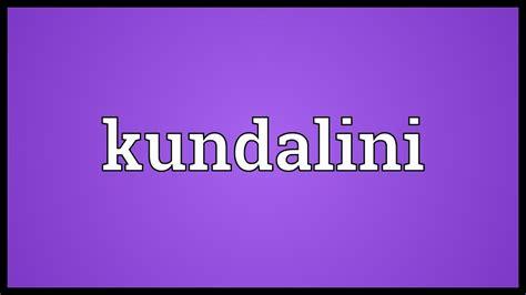 Kundalini Meaning   YouTube