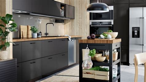 KUNGSBACKA anthracite kitchen – clean and stylish   IKEA CA