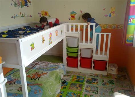 Kura con escalera Trofast   Dormitorios infantiles   Kura ...