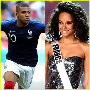 Kylian Mbappe's Rumored Girlfriend Alicia Aylies Supports ...