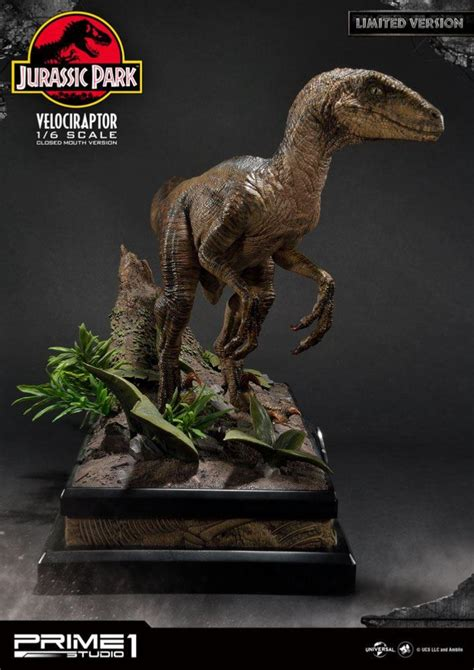 Kyodai & Aniki   Jurassic Park statuette 1/6 Velociraptor ...