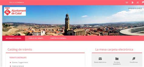 L Ajuntament de Calaf estrena seu electrònica per ...