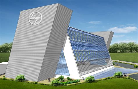 L&T Corporate Office Building at Hazira   Option 02 ...