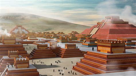 La antigua Teotihuacan   El Espejo Humeante